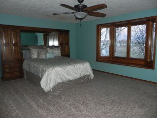 Aviator Dreams; Spacious Retreat Located On Small Local Airport