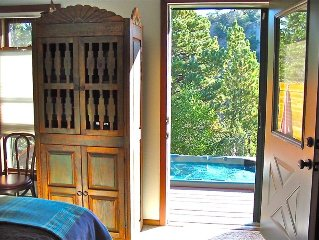 Arkansas River Frontage w/Hot Tub on Deck Overlooking River-Romantic Private!