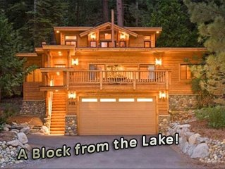 Fabulous Cabin Block away from Private Beach