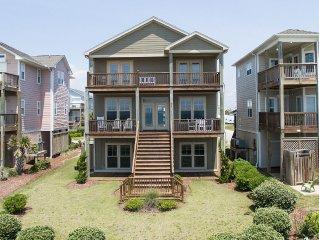 5 bedroom, 5 Bath Oceanfront Home  - 'Sea-Renity'
