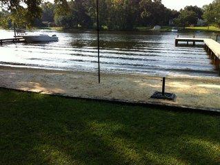 Waterfront Home In Lizzie's Creek, Wyboo Creek, Lake Marion, Santee