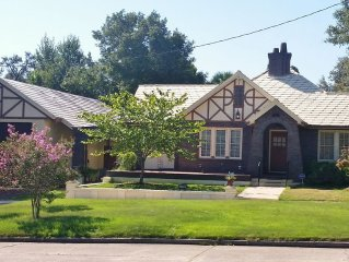 1928 Tudor in Historic East Hill - Across from Park, 15 Mins to Beach!