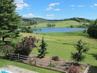 Country Cottage, Pool and Tennis Court! 800 Acres of Pure Bliss!