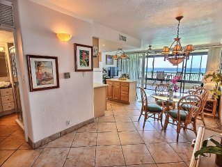 1 BR Delux Suite~Direct Ocean Beachfront~Daily Maid Service~No Cleaning Fees!!