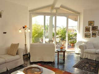 An Amazing Penthouse with Terrace near St. Peter' And Piazza Del Popolo