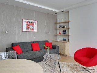 Luxury, modern, central- Near Louvre, Palais Royal, Notre Dame, Orsay, Marai
