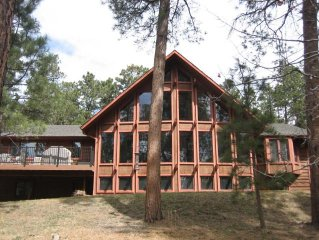 4 Bdrm Home on Treed 6.3 Acres 4 Miles from Air Force Academy