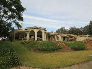 Riverfront private home