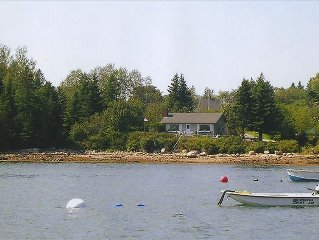 Oceanfront Cottage W/Views of Acadia Natl. Park/Walk to Town