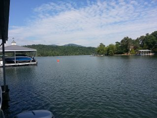Lake Chatuge Deep Water Townhome In Downtown Hiawassee