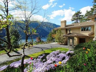 Spectacular 4500 sf WATERFRONT home with POOL, dock, swim slide, mooring buoy!