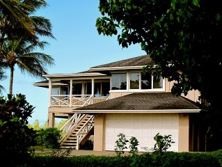 Finest Oceanfront Beach House On Molokai's East End- Permit#STMO2013/0009