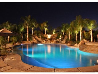 9 mi to 'Chella!!Gated 2.3 Acre'Mini-Marriott', Views, 5*Pool,12' slide, No HOA!