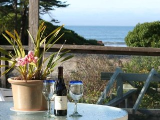 Creekside Stinson Beach surrounded by wooded, grassy nature. Near Beach & Town