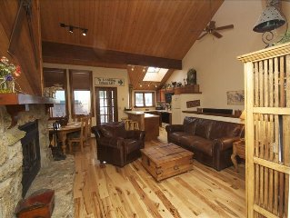Townhouse W/ Private Hot Tub, on Ski Bus Route, Walk to Town