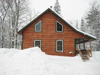 Adirondack Style Home New in 2012 - Snowmobile, Ski, Fish Salmon River,