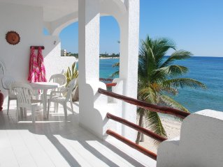 Akumal Beachfront Condo 3 Bedrooms 3 Bathrooms   Half Moon Bay