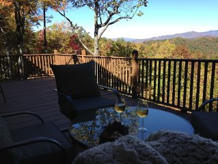 Black Mountain Secluded Home with Amazing Mountai