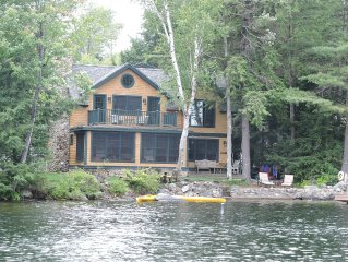 Lake Sunapee  Water Front Luxury Timber Home, Minutes to Mnt Sunapee, Sleeps 11
