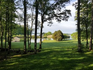 The Place You've Been Looking For!  Huge Wooded Waterfront Lot With Boathouse!