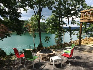 Wonderful Lakefront Property With Private Dock.