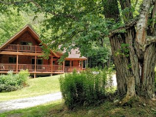 Beaver Lodge Log Home  - Killington - Perfect All Seasons - Timeless Experience