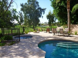 The Best Deal on Ocotillo Golf Course/4BR- Pool, Spa & 50% off Golf