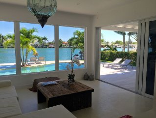 Miami Beach - Beautiful and Modern Waterfront villa on Private Island,4 bedrooms