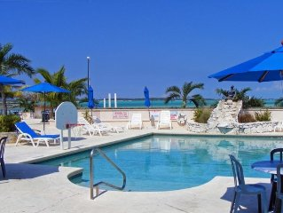 1BR Beachfront Villa at Palm Bay Beach Club on Great Exuma