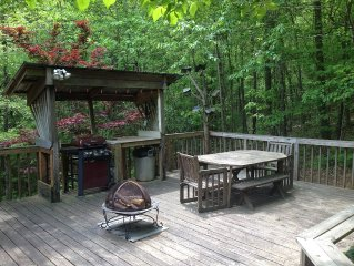 Serene Hideaway Steps from National Forest