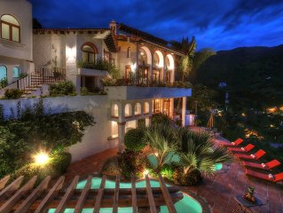 Ocean View Puerto Vallarta Villa Overlooking Mismaloya Beach