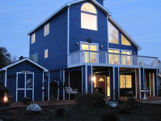 Huge Contemporary Beach Home on 1/2 Acre Lot Steps to Private Beach