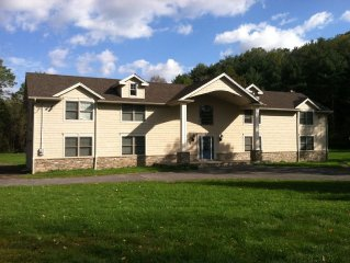 Brand new Catskill Mountain Vacation Home on 40 acers
