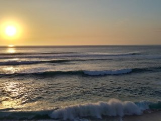 Beachfront Unobstructed Sunset Views, White Sand Beach, Hawaiian Princess Makaha