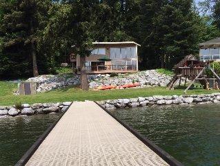Lake Whatcom Bellingham Waterfront Cabin