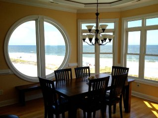 Gorgeous New Home Directly On The Beach With Panoramic Views