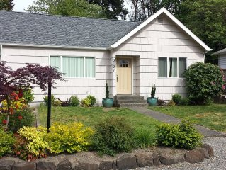Two bedroom home- Available year round!- 2 miles to Chambers Bay