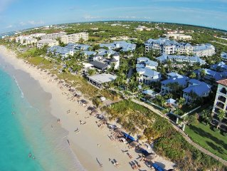 Stunning 4 Bedroom Beachfront Home in the heart of Grace Bay Beach