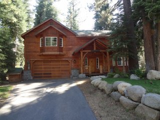 Rustic Tahoe Luxury - 5 mins to skiing, 5 mins walk to beach, Numerous Amenities