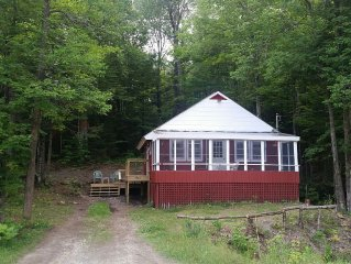 Classic Lake View Vacation Cabin Craftsbury VT