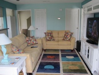 Large Townhome Full of Amenities - One Block from Beach!