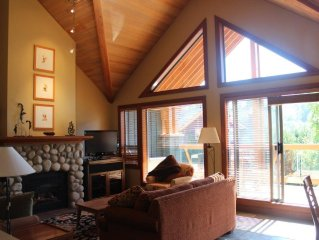 Whistler Village Large Luxury Town Home - 4 Bed + 3.5 Bath