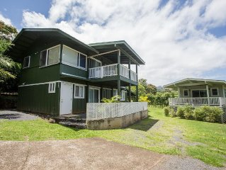 Convenient & Centrally Located Home in the Heart of Hana, sleeps 4 with 2br/1b