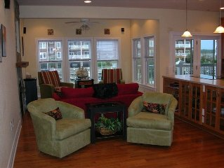 Breathtaking Outer Banks Waterfront Condo