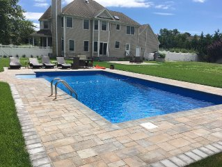 Newly Renovated 4-Bdr House with Heated Pool and Private Beach Access
