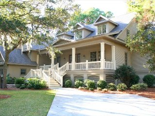Sea Pines Brand New Marshfront and Short Walk to Beach