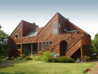 Oceanfront, Architect-Designed House