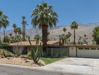 Stunning Mid Century Gem in Twin Palms