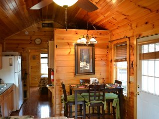 REMOTE LOG CABIN MOUNTAIN TOP VIEWS RELAX STARGAZE HIKE FULLY FURNISHED HEAT A/C