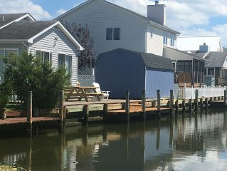 Waterfront with boat Dock, Dog Friendly, Fenced Yard, WIFI